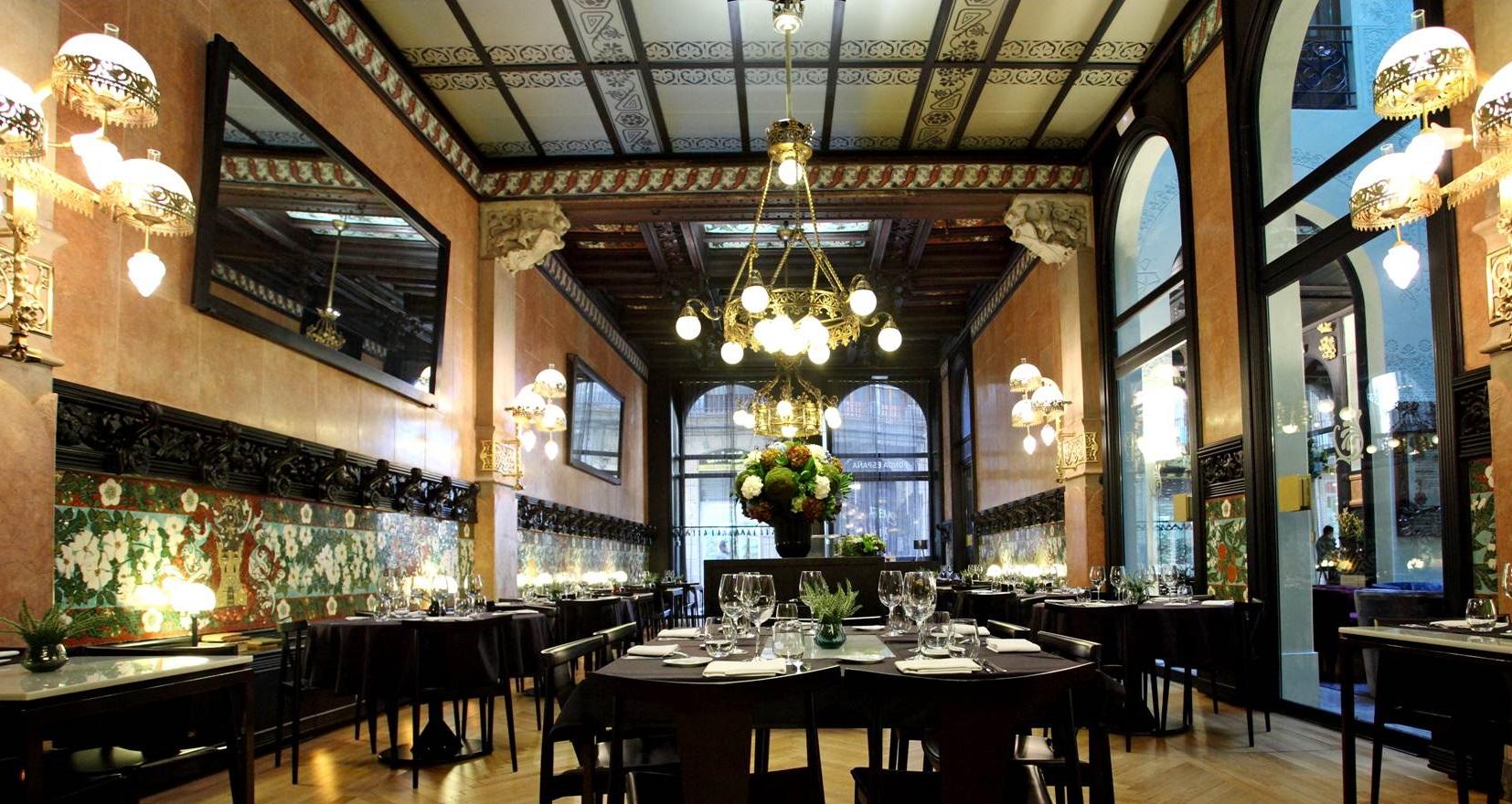 Top 5 barcelona restaurantes cl sicos de cocina catalana - Restaurante ken barcelona ...