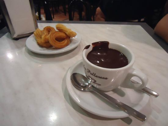 chocolate churros palleresa