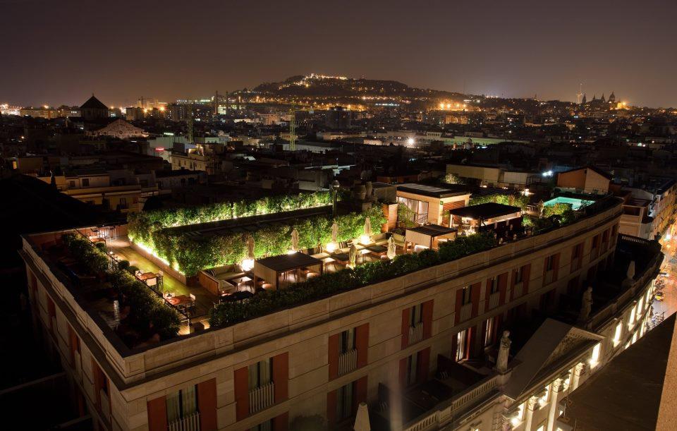 Top 5 barcelona terrazas con vistas for Terrazas de hoteles en barcelona